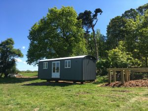 glamping norfolk, a shepherd hut